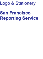 Logo & Stationery San Francisco 